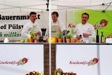 tolle Kochshow zum Ostelbischen Bauernmarkt