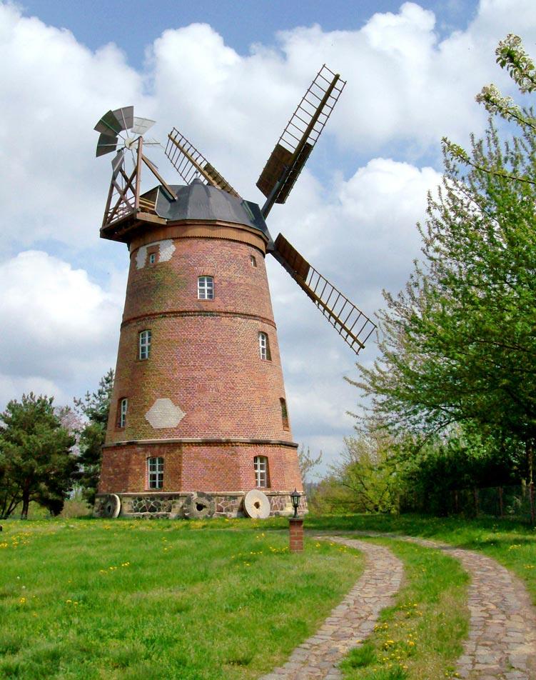 Holländerwindmühle Beilrode