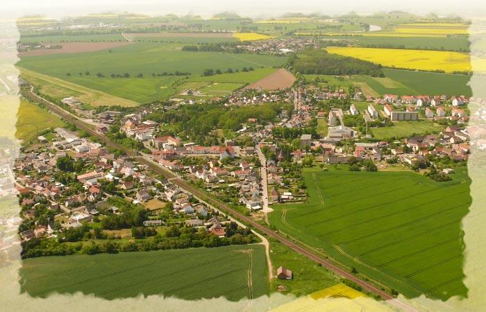 Ortschaften der Region Ostelbien