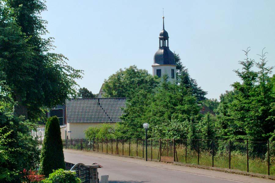 Die Kirche von Triestewitz